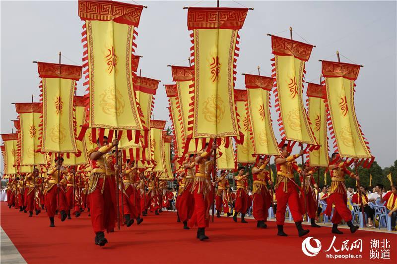 """30多个国家及地区华人华侨和56个民族代表湖北随州""""寻根拜祖""""【4】"""