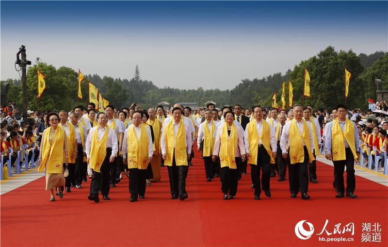 """30多个国家及地区华人华侨和56个民族代表湖北随州""""寻根拜祖""""【2】"""