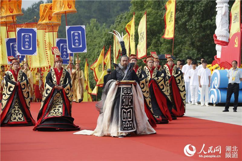 """30多个国家及地区华人华侨和56个民族代表湖北随州""""寻根拜祖""""【5】"""