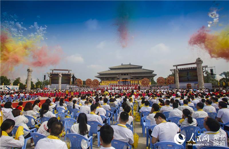 """30多个国家及地区华人华侨和56个民族代表湖北随州""""寻根拜祖""""【3】"""